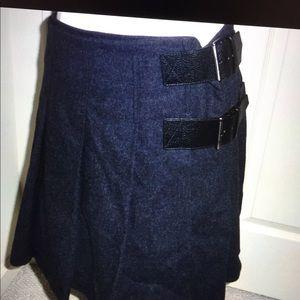 NWT Burberry skirt/kilt us8 avante garde